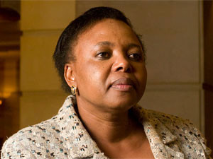 """News of Nombulelo """"Pinky"""" Moholi's imminent departure from Telkom sees the stock lose ground."""