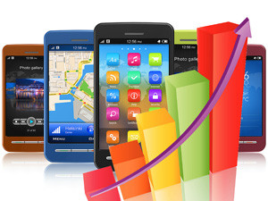 The Asia/Pacific region led worldwide mobile phone sales with 53.1% in the first quarter of 2013.