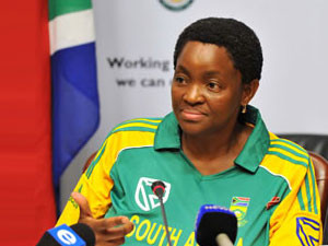 Social development minister Bathabile Dlamini assures social grant payments will continue on 1 April.
