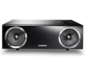 The Samsung DA-E670 wireless audio dock produces superb sound quality and offers a multitude of connectivity options.