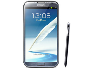 """The Samsung Galaxy Note ll is the brand's latest """"phablet"""" and is a little longer and thinner than its predecessor."""