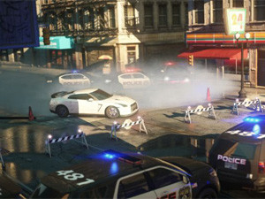 The storyline is the same as most of the titles in the Need for Speed series: a 'climb the ranks and become the most wanted driver' scenario.