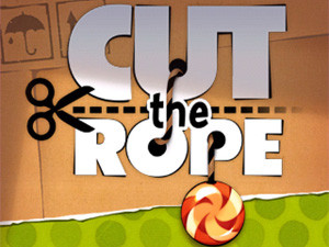 Chillingo's Cut the Rope for iPad game is great fun for both children and adults.