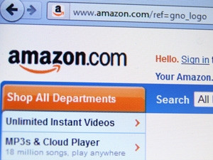 A study by UCS Solutions identified Amazon as SA's most popular online retailer.  Photo by: Annette Shaff / Shutterstock.com