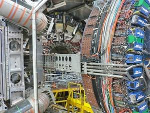 A view of the heart of the Atlas detector. ATLAS Experiment (c) 2013 CERN.