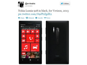 The Lumia 928 is rumoured to run off a 1.5GHz dual-core processor.