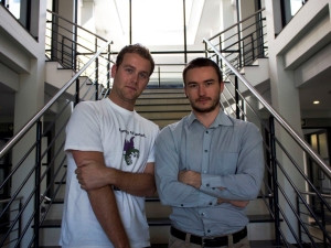 Cirqls founders Donovan Solms, CTO, and Mark Karimov, CEO.