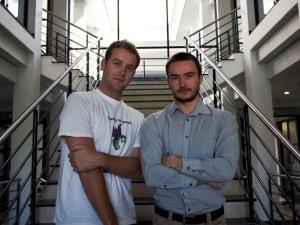 Cirqls founders Donovan Solms, CTO, and Mark Karimov, CEO.