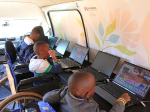 Huawei's partnership with Khulisani Enterprise improved ICT access for disabled youth in Johannesburg.