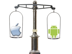 The tablet scale will tip towards Android as demand for smaller and cheaper devices increases.