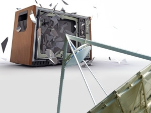 Viewers will choose satellite over terrestrial if the cost of decoders is about the same, say commentators.