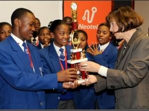 IgniteIT - Winner - Kingsway Secondary School.