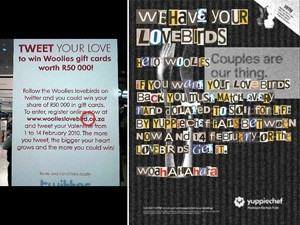 Woolworths' minor mistake on its Lovebirds campaign became a viral sensation and saw over R100 000 being raised for charity.