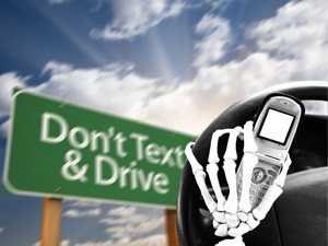 Two-thirds of South African drivers use their phones while driving, many of whom text and drive.