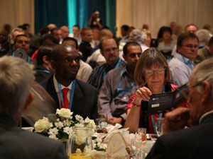 Guests in the ballroom at last year's IITPSA Annual President's Awards.