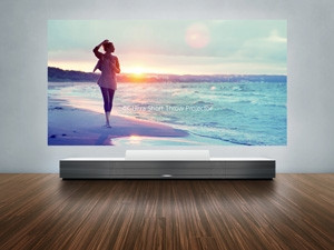 Sony 4K Ultra Short Throw Projector - high-end living rooms and boardrooms can project UHD content without rebuilding the room around it. The catch? The unit is expected to cost up to $40 000.