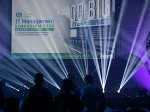 Yesterday's CA IT Management Symposium Africa attracted over 1 000 delegates.