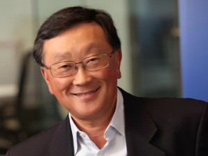 BlackBerry CEO John Chen.