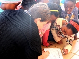 Boikhantsho Primary School - Maths Day.