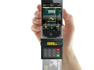 iKhokha transforms a smartphone into a mobile point of sale terminal, enabling merchants to process card payments.