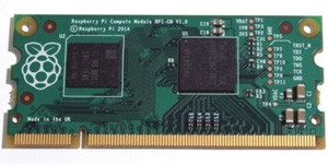 The Raspberry Pi compute module is aimed at industrial applications.