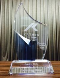 Kathea Tech Summit, Emerging Partner 2014 Awarded to Galdon Data.