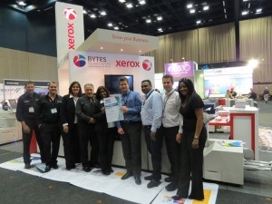 Expo Stands Durban : Xerox wins best stand award at africa print in durban closes two