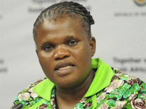 Faith Muthambi becomes minister of public service and administration.