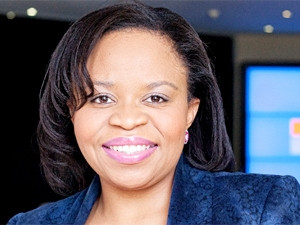 Nqobile Dlamini, Microsoft SA, says the company matches graduates to employers and gives them the skills they need to do what the companies need them to do.