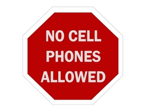 Answers are being demanded as to who authorised blocking cellphone signals in Parliament last night.