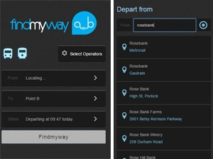 The new Findmyway app aims to take the confusion out of local public transport.