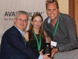 Integr8 wins Veeam project award