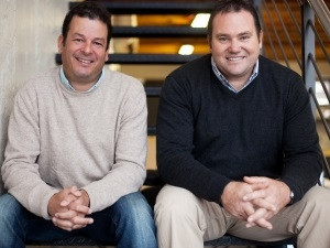 Soarsoft International Directors: George Amoils (left) and Chris Hathaway (right).