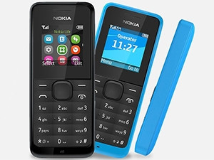 The new Nokia 105 will retail for about R245 when it lands in SA in the coming months.