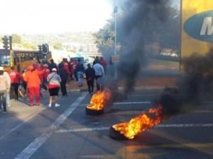ITWeb understands union members threw petrol over MTN staff.