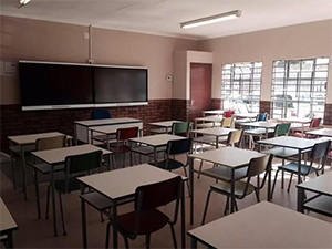 Last year, the Gauteng Education Department installed smartboards in Grade 12 classrooms across 377 schools in the province.