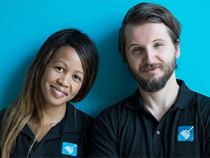 SweepSouth CEO Aisha Pandor and CTO Alen Ribic are taking their business to the next level by joining Silicon Valley-based accelerator, 500 Startups.