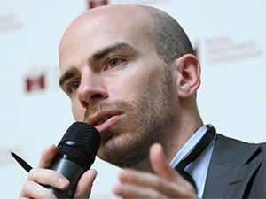 World Economic Forum economist Thierry Geiger.