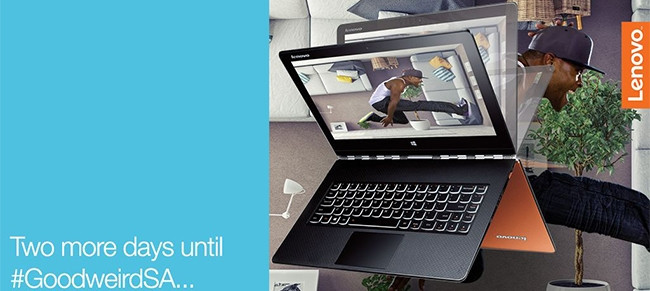 """Lenovo's new """"good-weird"""" Yoga tablet."""