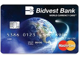 Bidvest forex fees