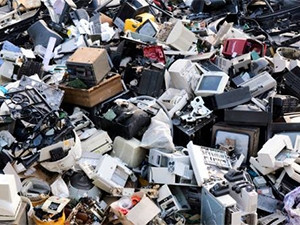 E-waste makes up 5% to 8% of municipal solid waste in South Africa.