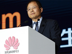 Rotating CEO Eric Xu says Huawei wants to be the largest cloud provider in the world.