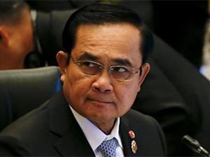 Thailand prime minister Prayuth Chan-ocha.