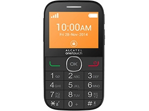 Alcatel OneTouch 2004C is aimed at senior citizens who want an 'unfussy' experience.