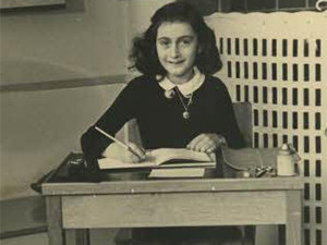 Anne Frank became one of the most famous victims of the Holocaust when her diary was posthumously discovered and published in the 1940s.