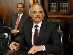 Former US attorney general Eric Holder has come on board to help MTN Nigeria negotiate a settlement in its pending $3.9 billion fine. (Photograph by Reuters)