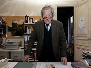 Parisian art historian Jean-Jacques Fernier is pursuing Facebook for infringing on his freedom of expression. (Photograph by Reuters)
