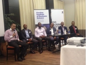 Panel discussion at launch of second Future CIO event