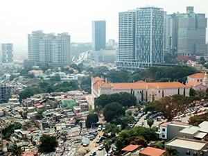 In Luanda, the rich and the poor live side by side.