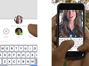 Snapchat now lets users video call each other, working similarly to other VOIP services.